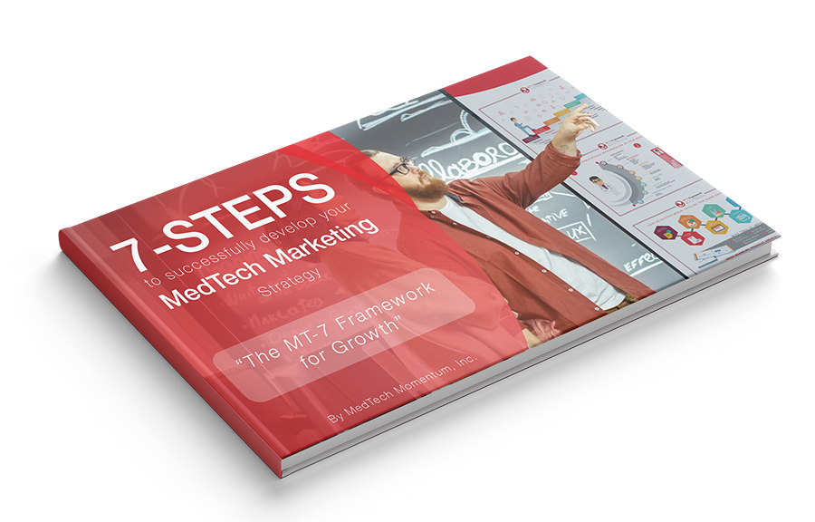 7 step Ebook from Medtech Momentum